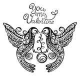 Vogel-Logo Lizenzfreie Abbildung