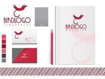 Vogel Logo Brand royalty-vrije illustratie