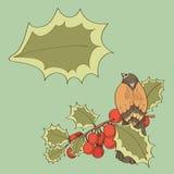 Vogel op takken Stock Foto