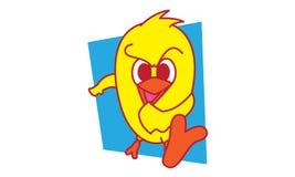 Vogel-Treten Lizenzfreie Stockfotos