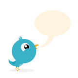 Vogel-Tweet Stockfoto