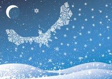 Vogel van sneeuw. Royalty-vrije Stock Foto's