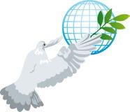 Vogel van vrede Stock Afbeeldingen