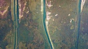 Vogel-View See im Herbst Stockfotos