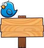 Vogel-Zeichen lizenzfreie abbildung