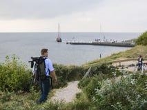 Vogelaar, Birder stock photography