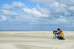 Vogelaar, Birdwatcher стоковая фотография rf