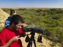 Vogelaar, Birdwatcher stock photos