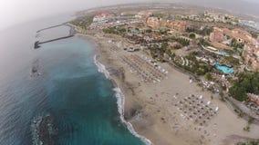 Vogelaugenansicht Teneriffas Del Duque Tenerife 2015 Lizenzfreie Stockfotos