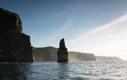 Vogelaugenansichten von den Klippen von moher in der Grafschaft Clare Irland Stockfotos