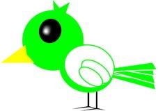 Vogelbeeldverhaal Stock Afbeelding