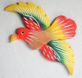 Vogeldecoratie op muur Royalty-vrije Stock Foto