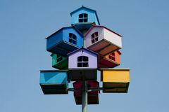 Vogelhäuser Lizenzfreies Stockbild