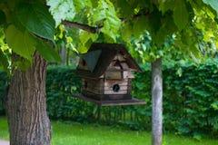 Vogelhaus ohne Vögel Lizenzfreies Stockfoto