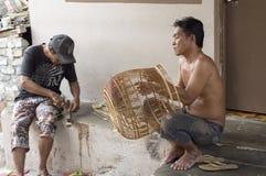 Vogelkäfighersteller Lizenzfreies Stockbild