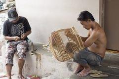 Vogelkäfighersteller Lizenzfreies Stockfoto