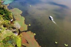Vogelmening van Qionghai-Meer in Xichangï ¼ ŒChina Stock Afbeeldingen