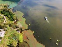 Vogelmening van Qionghai-Meer in Xichangï ¼ ŒChina Stock Foto's