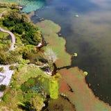 Vogelmening van Qionghai-Meer in Xichangï ¼ ŒChina Royalty-vrije Stock Foto's