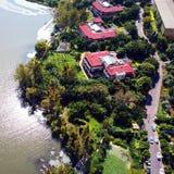 Vogelmening van Qionghai-Meer in Xichangï ¼ ŒChina Royalty-vrije Stock Afbeeldingen