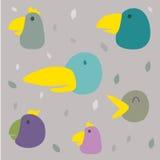 Vogelpatroon vector illustratie