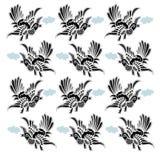 Vogelpatroon Stock Afbeelding