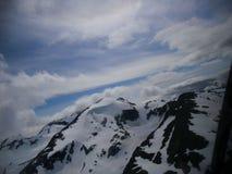 Vogelperspektive der Bergspitzen Lizenzfreie Stockfotografie