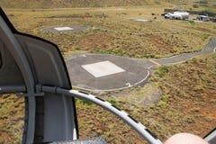 Vogelperspektive der großen Insel lizenzfreies stockbild