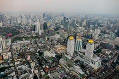 Vogelperspektive der Stadt, digitales Fotobild als Hintergrund stockfotografie