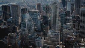 Vogelperspektive der Stadt mit Verbindungen stock abbildung