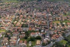 Vogelperspektive der Stadt von Rom Stockfoto