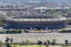 Vogelperspektive des estadio azteca Fußballstadions Stockbilder