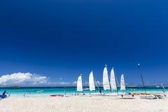 Vogelperspektive des Heiligen Martin Beaches stockbilder