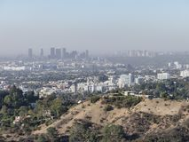 Vogelperspektive des westwood Stadtbilds lizenzfreie stockbilder