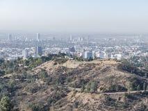 Vogelperspektive des westwood Stadtbilds stockfotografie