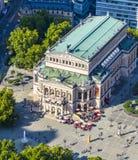 Vogelperspektive: die Alte-Operation (altes Opernhaus), in Frankfurt Stockbild