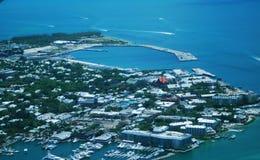 Vogelperspektive - Key West Florida lizenzfreies stockbild