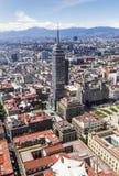Vogelperspektive lateinamerikanischen Turms Mexiko City Lizenzfreies Stockfoto