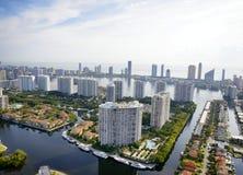 Vogelperspektive in Miami Stockbilder