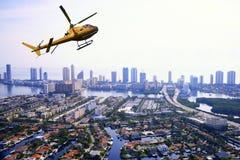 Vogelperspektive in Miami Lizenzfreie Stockfotos