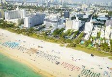 Vogelperspektive in Miami Lizenzfreies Stockbild