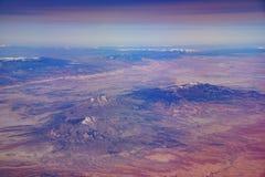 Vogelperspektive schönen Glen Canyon National Recreation Ares stockfotografie