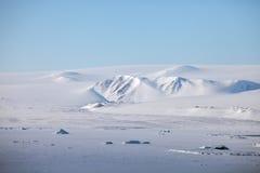 Vogelperspektive Severnaya Zemlya (Nordland) Lizenzfreie Stockfotos