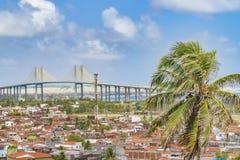 Vogelperspektive-Stadtbild Natal Brazil Lizenzfreies Stockbild