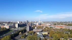 Vogelperspektive von Amsterdam stock video