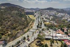 Vogelperspektive von Atizapan Mexiko Lizenzfreie Stockfotos