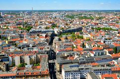 Vogelperspektive von Berlin, Deutschland Stockfoto