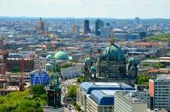 Vogelperspektive von Berlin, Deutschland Stockfotografie