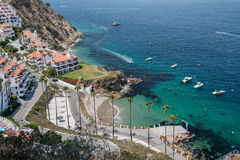 Vogelperspektive von Catalina Island Resort Stockbilder