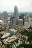 Vogelperspektive von Charlotte, NC Stockfoto
